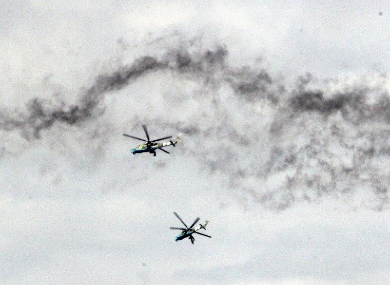 UkrAF Mi-24 - Over East-001