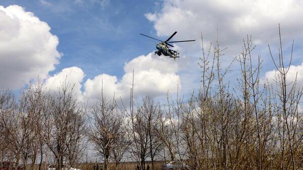 UkrAF Mi-24 - Over East-003