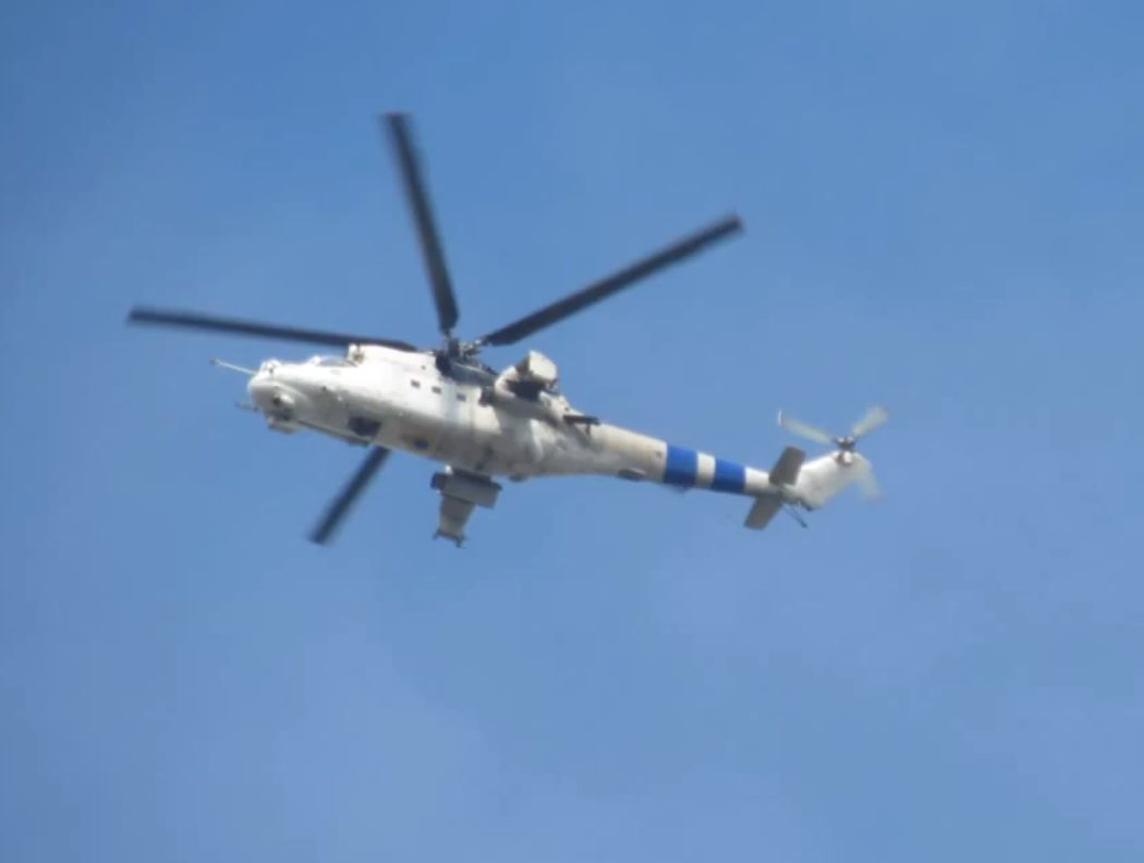 UkrAF Mi-24 - Over East-041