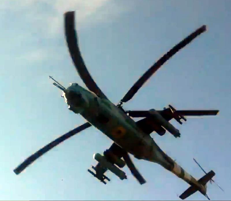 UkrAF Mi-24 - Over East-047