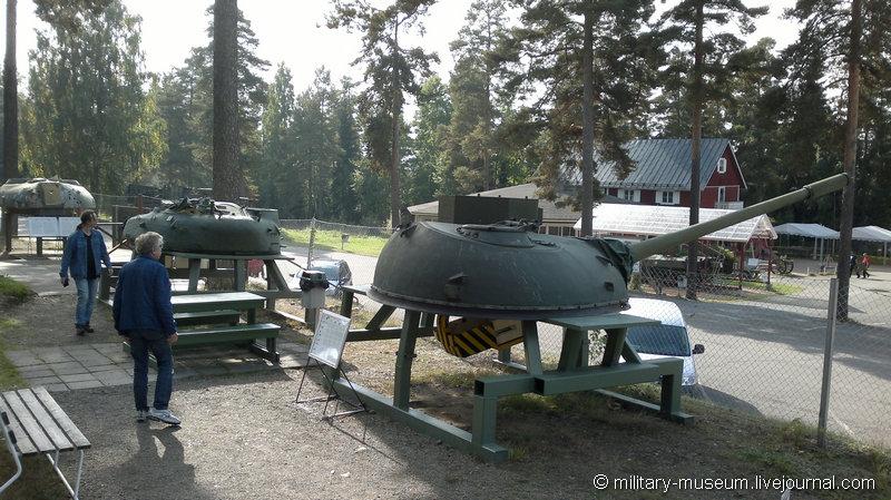 Танковые башни для обстрела