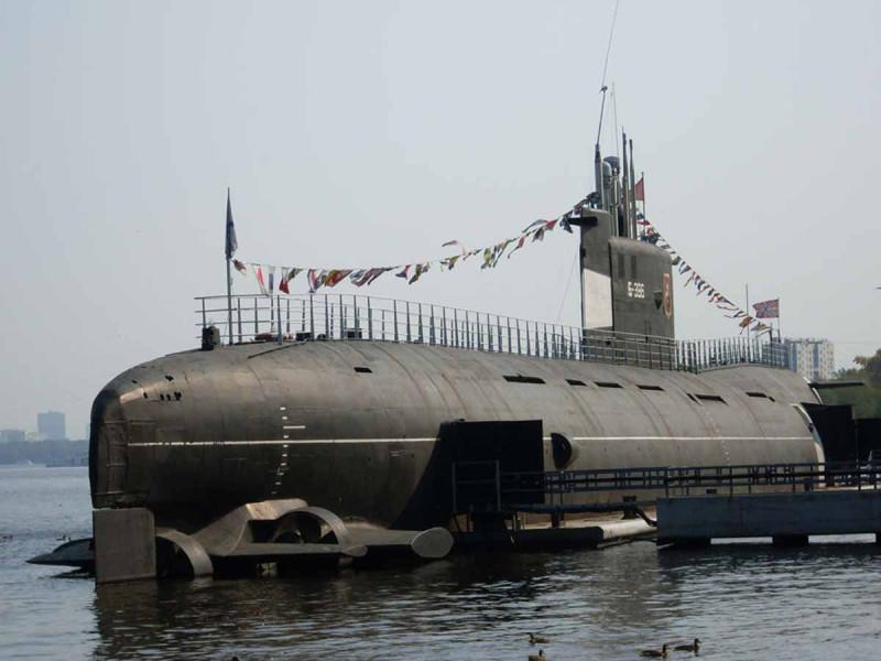 ПЛ-музей Б-396 в Москве, фото с сайта http://www.town.ural.ru