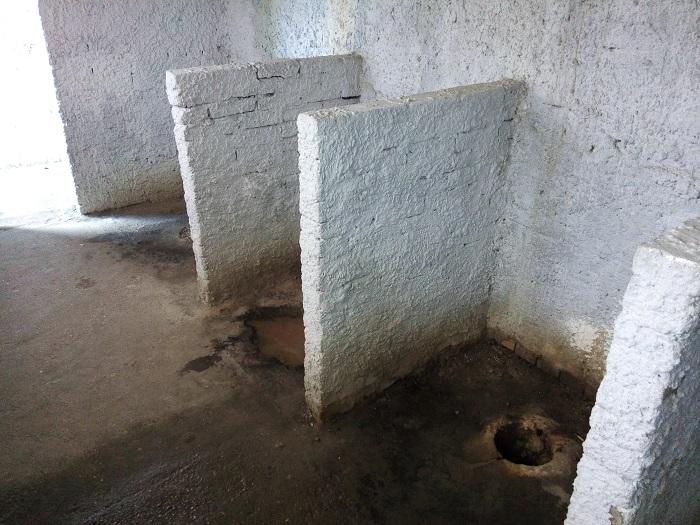 Туалет в музее БТВТ, Кубинка