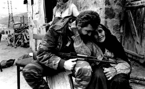 armenian soldier and turkish woman