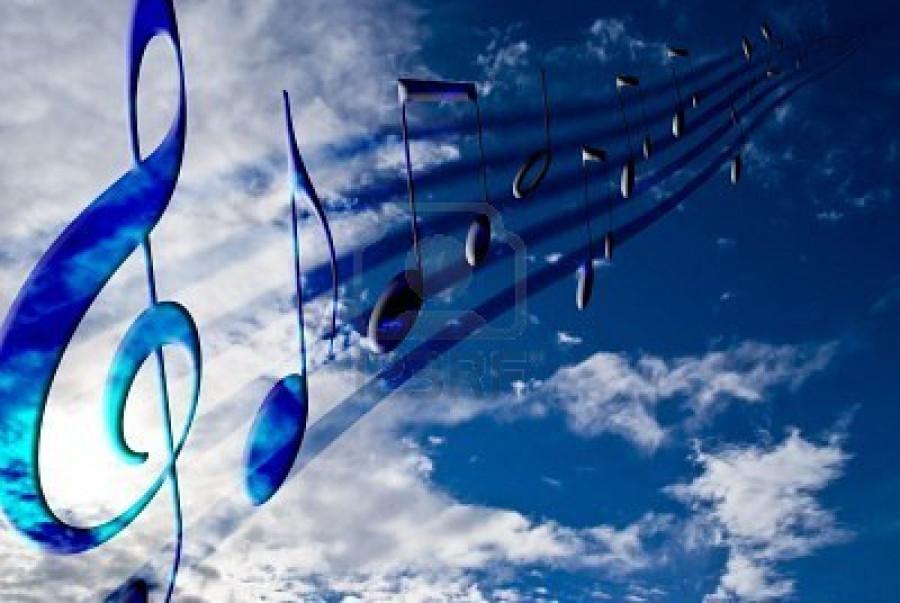 небо голос ноты