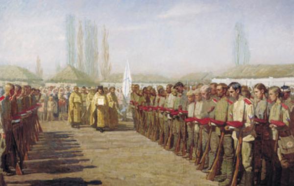 Священники в армии