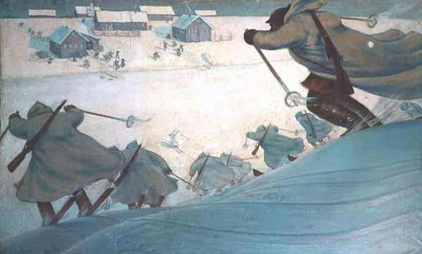 Лыжный батальон