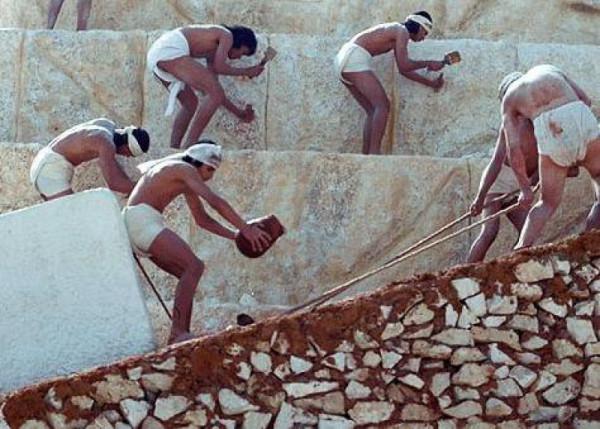 Пирамиды. Способ строительства