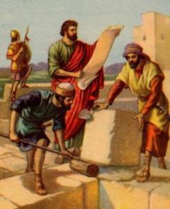 Иерусалим. Стр-во храма Давида