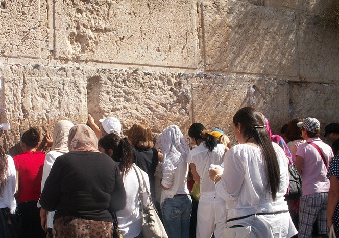 Иерусалим . Стена плача 4