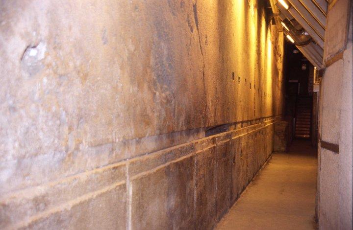 Иерусалим. Туннель под стеной плача