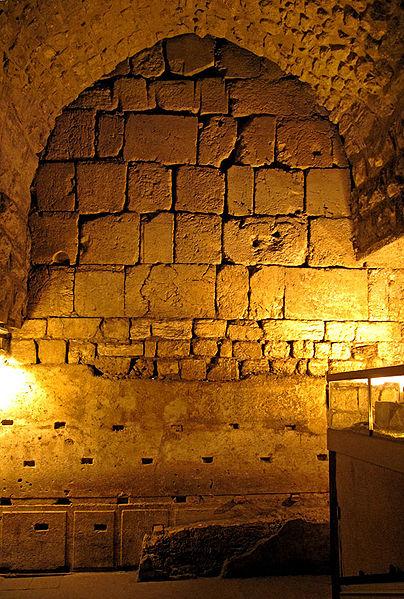 Туннель стены плача