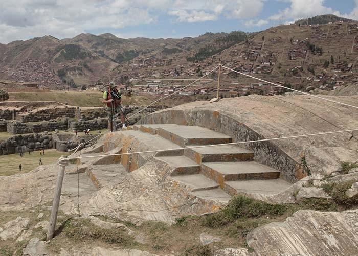 Перу. Горки 2.Трон инки