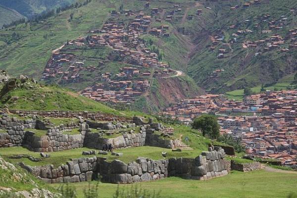 Перу. Саксайуаман. Общий вид