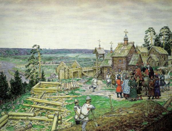 Основание села