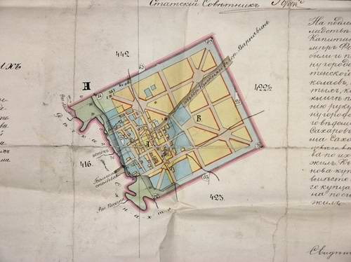 Семенов. план 1784 года