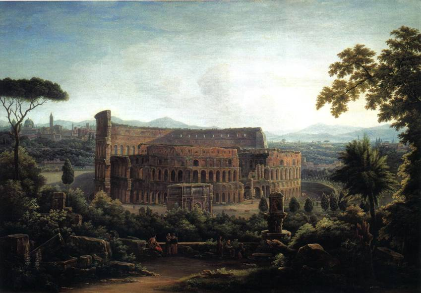Вид Рима. Колизей. Матвеев 1816 год