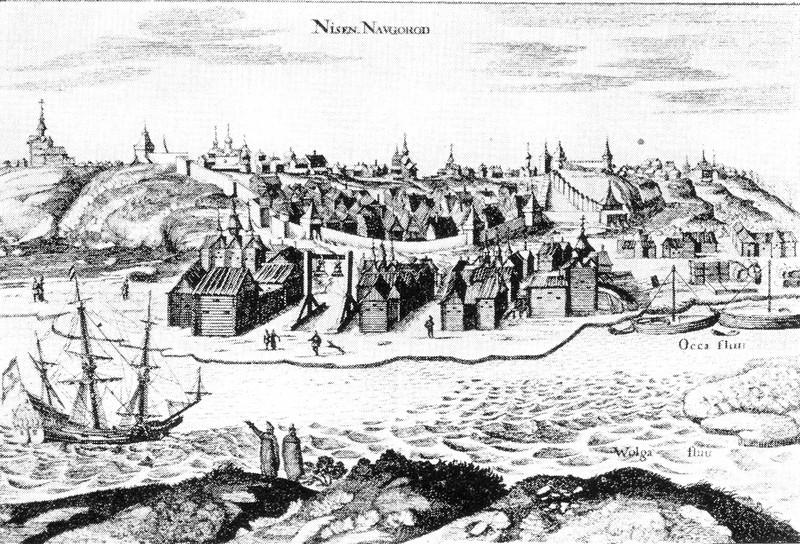Олеарий 1656 г