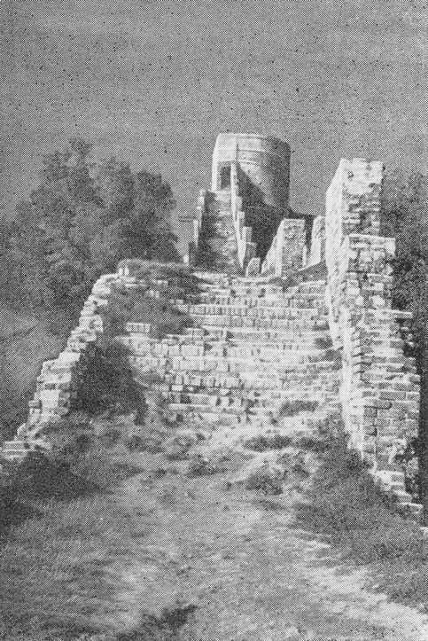 Часовая башня, стена