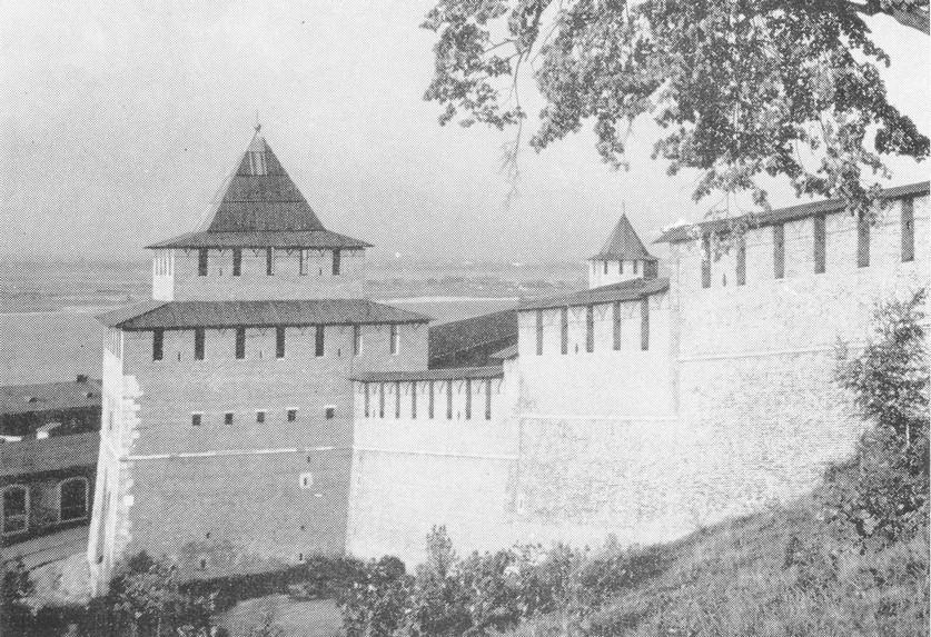 Ивановская башня после раставрации
