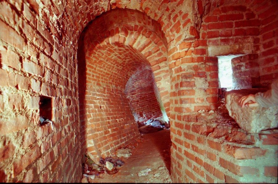 Борисоглебская башня внутри