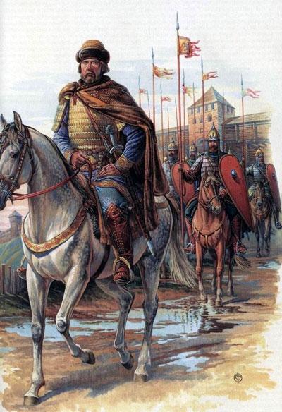 Въезд князя в Москву