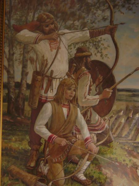 Мордовские воины
