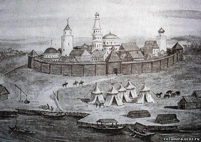 Касимов в XVI в