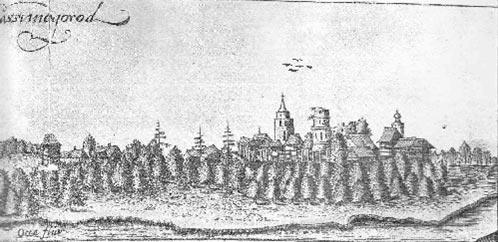Касимов . Рисунок Олеария