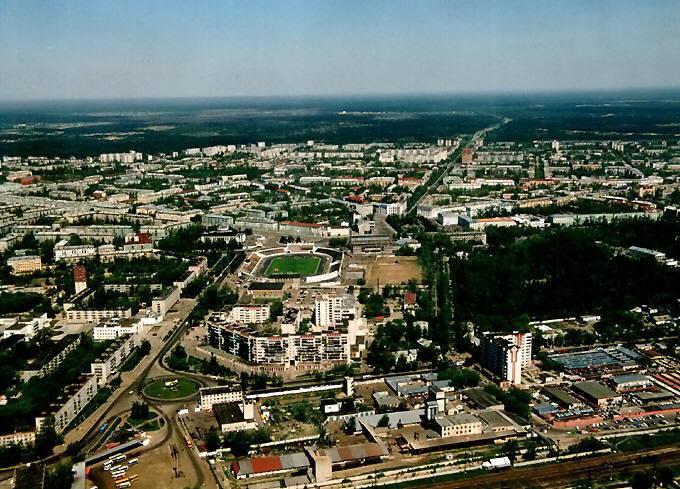 Дзержинск сверху