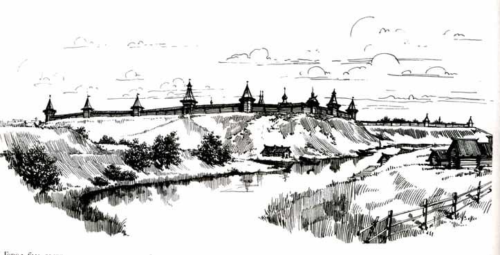 Переяславль-Рязанский. Начало XIII века. Реконструкция Е.Д.Шеко.