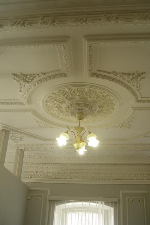 Дом Чеснокова. потолок