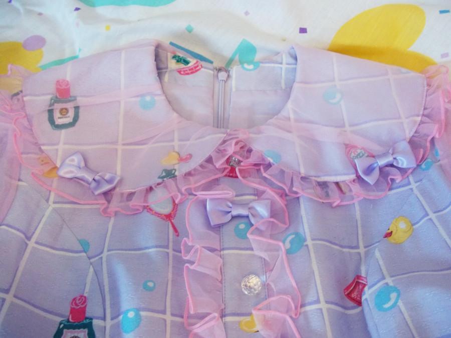 bubble bath closeup