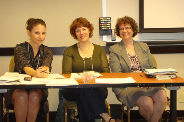 Krista Marino, Erin Murphy, and Joyce Sweeney