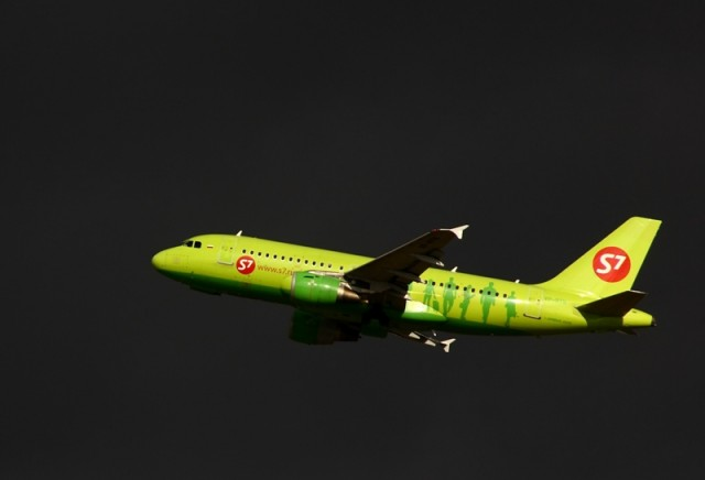 Airbus A319-114 cn 1126 S7 Airlines Moscow Domodedovo 03-10-2009