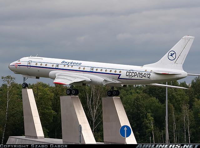 Ту-104Б (CCCP-L5412), Москва, Внуково