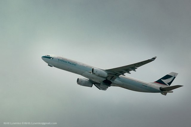 A330-343X cn389 (B-HLN) Catay Pacific Hong Kong Chek Lap Kok 09-04-2011