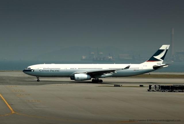 A330-343X cn 565 (B-HLW) Catay Pacific Hong Kong Chek Lap Kok 09-04-2011