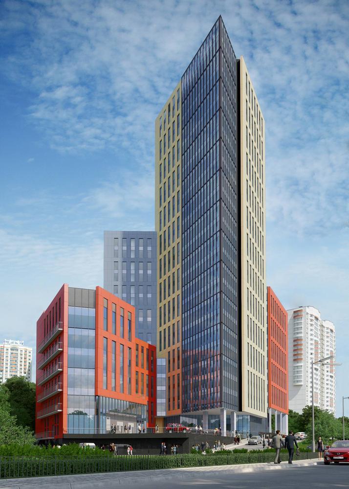 Обзор высотного строительства - 2013: Москва (ч.1.2.) - Блог Владимира Краснослободцева