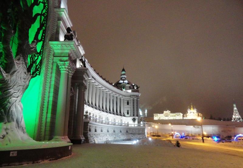 Казань январь 2013