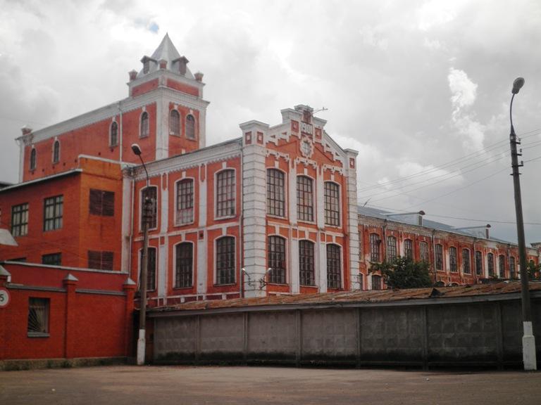 Здания бывш фабрики
