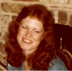A picture of me during my bridal shower, showing what my hair looked like when Flar first knew me.