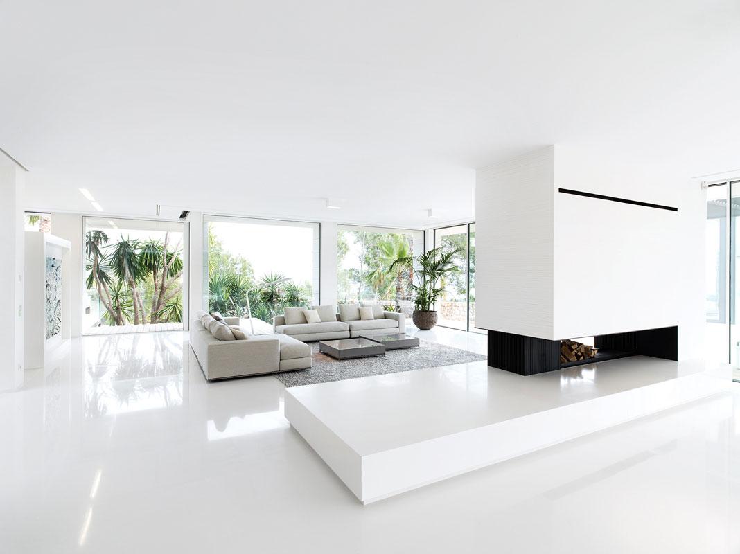 Интерьер дома в стиле минимализм фото (9)