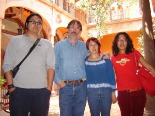 los spashka con Marcelo Uribe