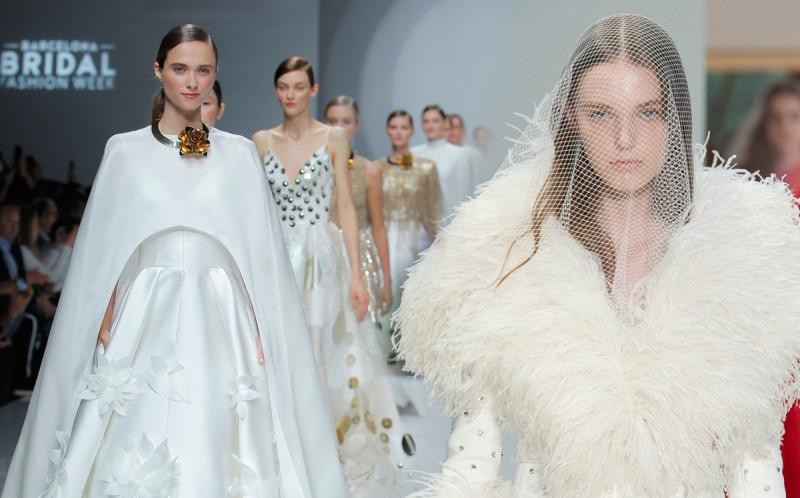 Свадебные платья: мода на романтику, авангард, минимализм и барокко на Bridal Fashion Week 2019