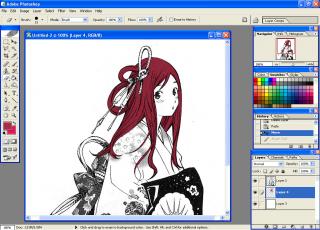 Manga Coloring Tutorial~♪: rivain