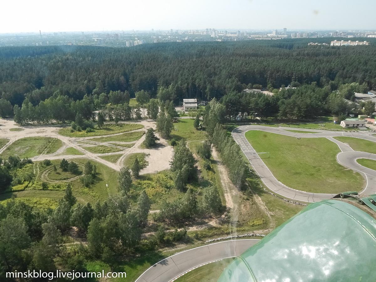 Полет над Минском на вертолете Ми-2
