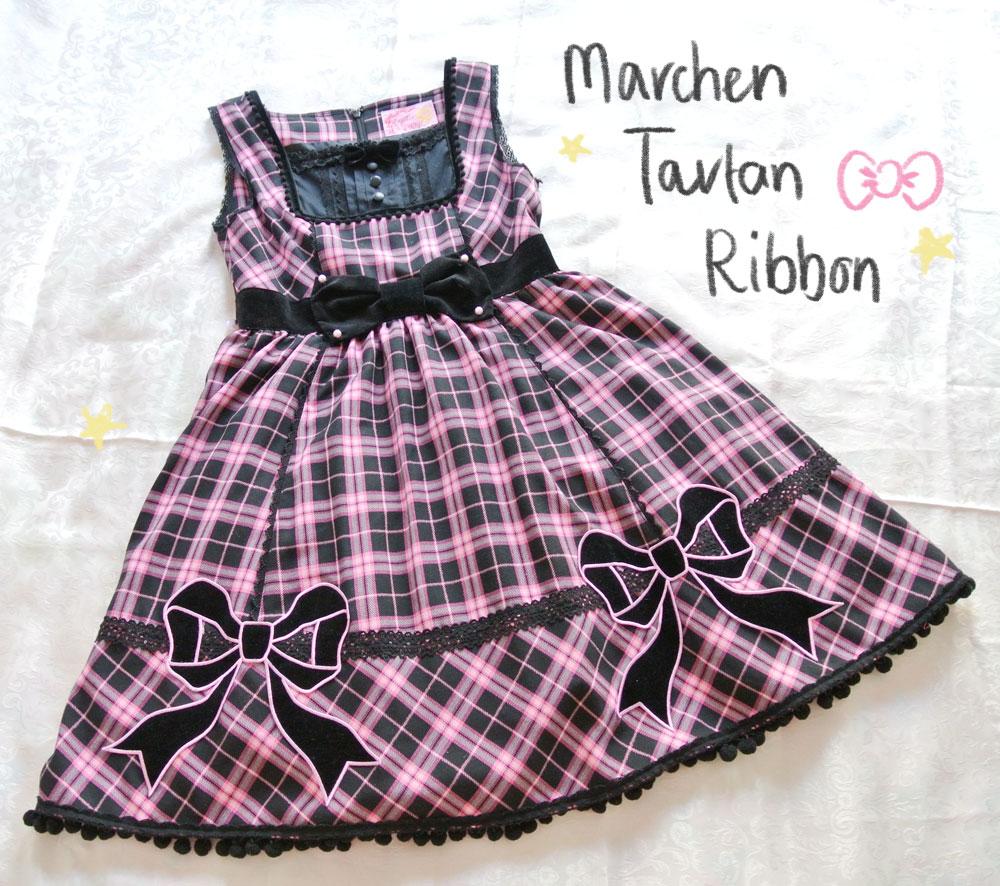 Marchen-Tartan-Ribbon
