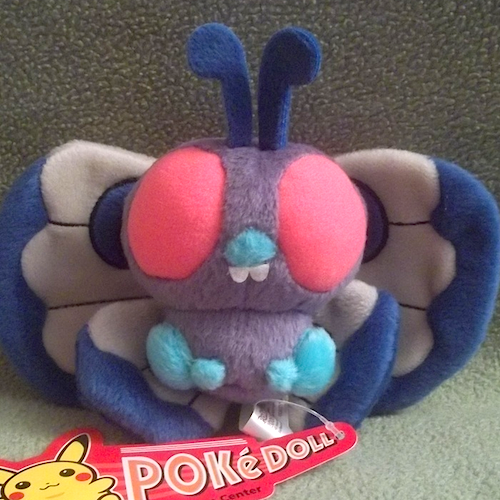 butterfree pokedoll