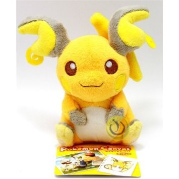 canvas raichu plush